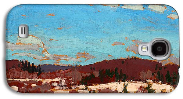 Early Spring Paintings Galaxy S4 Cases - Early Spring Galaxy S4 Case by Tom Thomson