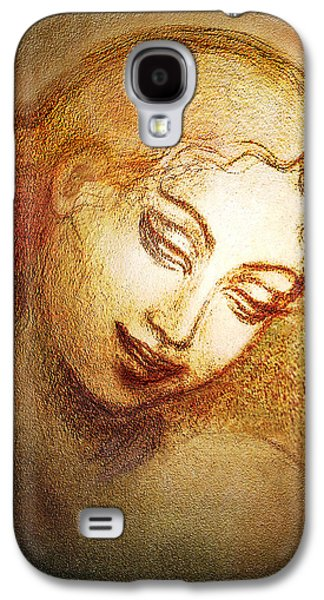 Goddess Durga Galaxy S4 Cases - Ecstasy Galaxy S4 Case by Ananda Vdovic