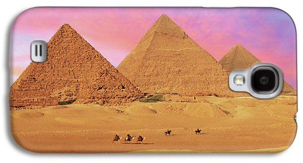 Egypt, Cairo, Giza, View Of All Three Galaxy S4 Case by Miva Stock