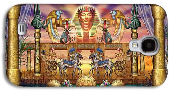 Pharaoh Galaxy S4 Cases - Egyptian Galaxy S4 Case by Ciro Marchetti