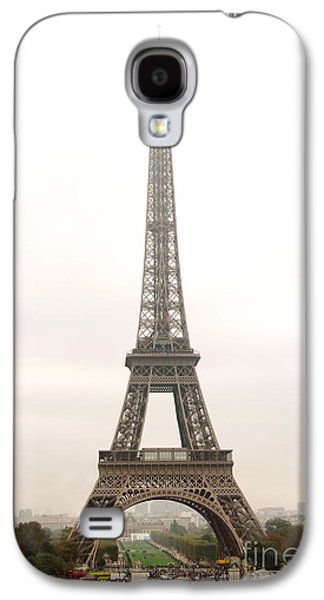 Landmarks Photographs Galaxy S4 Cases - Eiffel tower Galaxy S4 Case by Elena Elisseeva