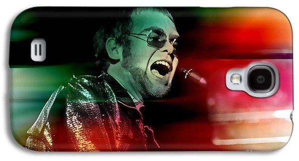 Elton John Galaxy S4 Case by Marvin Blaine