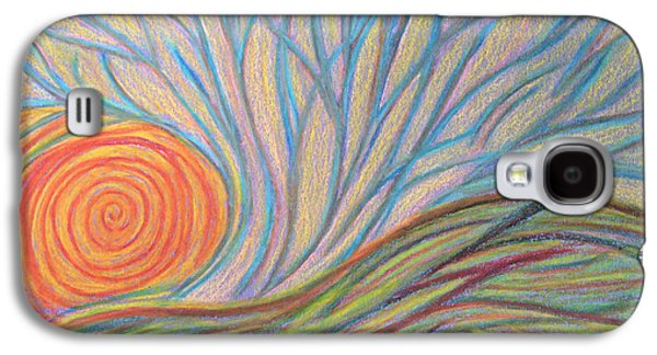 Spiritual Pastels Galaxy S4 Cases - Coming to be Seen Galaxy S4 Case by Jamie Rogers