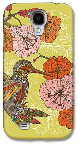 Illustration Photographs Galaxy S4 Cases - Emilia the bird Galaxy S4 Case by Valentina