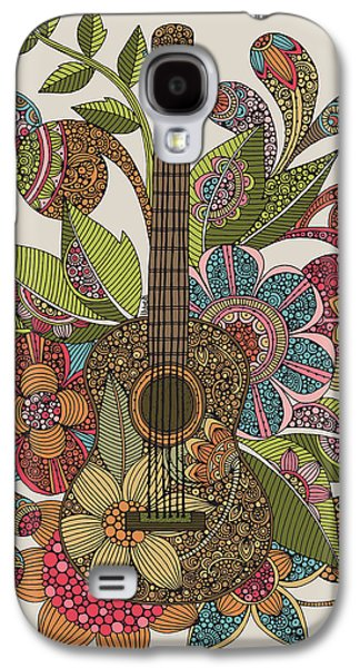 Illustration Photographs Galaxy S4 Cases - Ever Guitar Galaxy S4 Case by Valentina