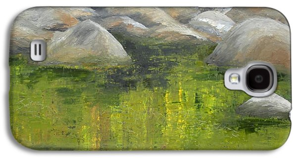 Smokey Mountains Paintings Galaxy S4 Cases - Fallen Log Galaxy S4 Case by Ralph Loffredo