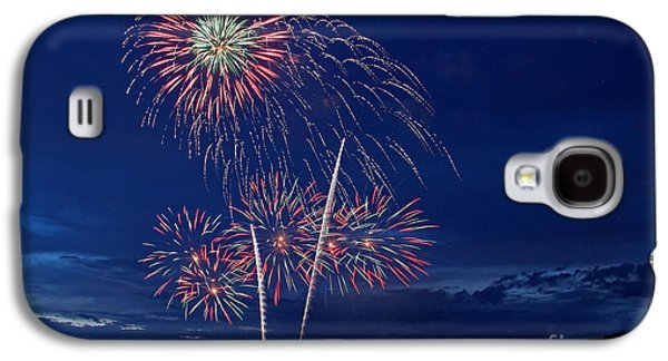 4th July Galaxy S4 Cases - Fireworks Galaxy S4 Case by Lisa Boland