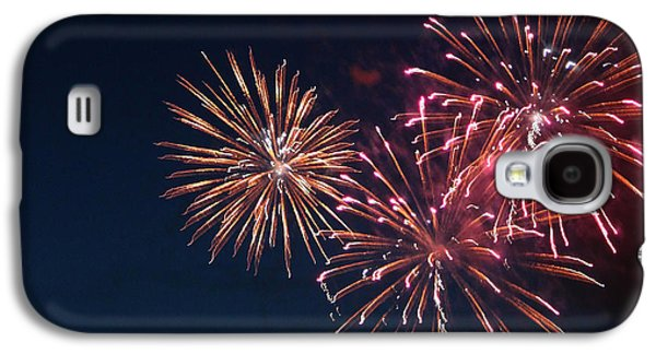 4th July Galaxy S4 Cases - Fireworks Series VI Galaxy S4 Case by Suzanne Gaff