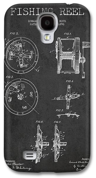 Reeling Galaxy S4 Cases - Fishing Reel Patent from 1896 Galaxy S4 Case by Aged Pixel