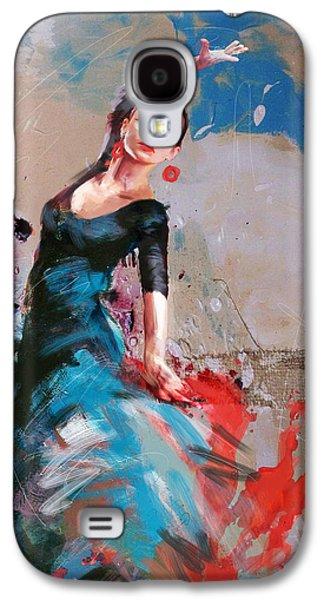 Furnishing Galaxy S4 Cases - Flamenco 41 Galaxy S4 Case by Maryam Mughal