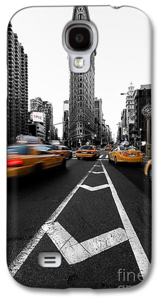 Midtown Galaxy S4 Cases - Flatiron Building NYC Galaxy S4 Case by John Farnan