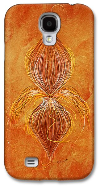 Fleur De Lys Galaxy S4 Case by Brenda Bryant