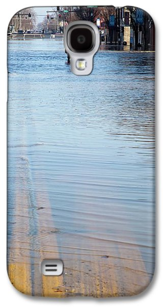 Flooded Street Galaxy S4 Case by Jim West