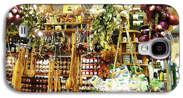 Harvest Art Galaxy S4 Cases - Florence Market Galaxy S4 Case by Irina Sztukowski