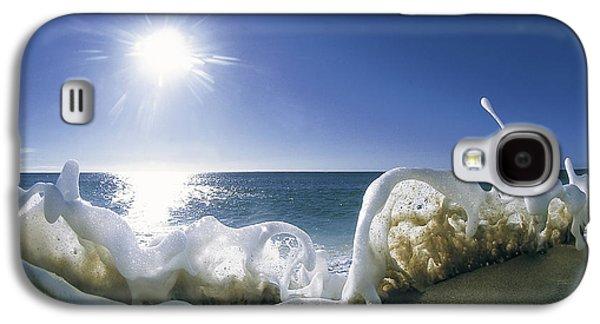 Ocean Art Photography Galaxy S4 Cases - Foam Inertia Galaxy S4 Case by Sean Davey