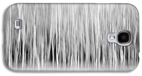 Forest Trees Abstract In Black And White Galaxy S4 Case by Natalie Kinnear