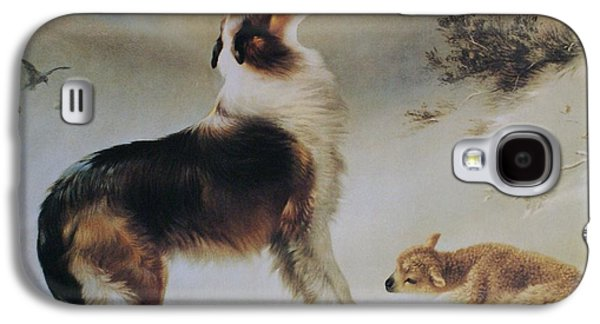 Best Sellers -  - Puppy Digital Art Galaxy S4 Cases - Found Galaxy S4 Case by Albrecht Schenck
