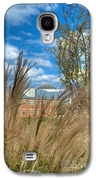 Mhs Galaxy S4 Cases - Founders Hall through the grasses Galaxy S4 Case by Mark Dodd