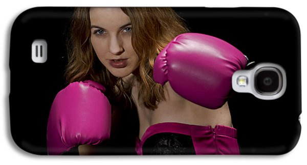 Boxer Galaxy S4 Cases - Foxy boxer Galaxy S4 Case by Jim Boardman