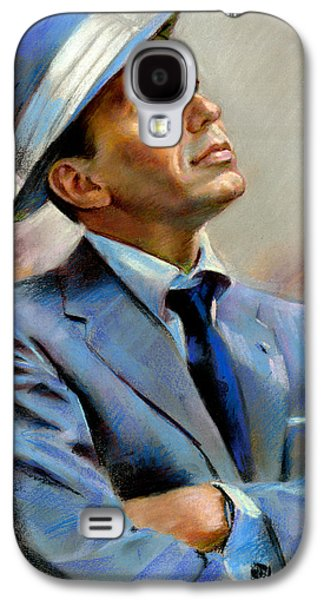 Celebrities Galaxy S4 Cases - Frank Sinatra  Galaxy S4 Case by Ylli Haruni