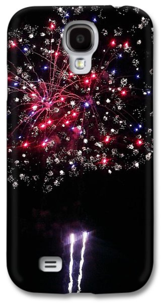 4th July Pyrography Galaxy S4 Cases - Freedom Blooms Galaxy S4 Case by Andrew  Stoffel
