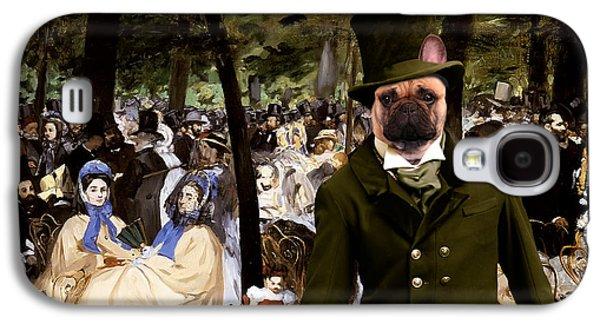 Coton Tulear Galaxy S4 Cases - French Bulldog Art Canvas Print Galaxy S4 Case by Sandra Sij