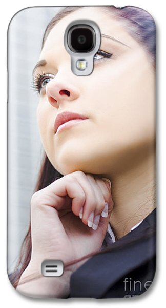 Contemplative Photographs Galaxy S4 Cases - Future Business Aspirations Galaxy S4 Case by Ryan Jorgensen