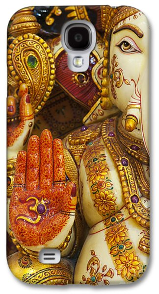 Spirituality Galaxy S4 Cases - Ornate Ganesha Galaxy S4 Case by Tim Gainey