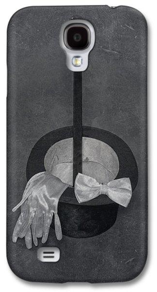 Black Top Galaxy S4 Cases - Gentleman Galaxy S4 Case by Joana Kruse
