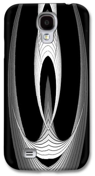 Shower Curtain Galaxy S4 Cases - Geometric Circles  Galaxy S4 Case by Rafael Salazar