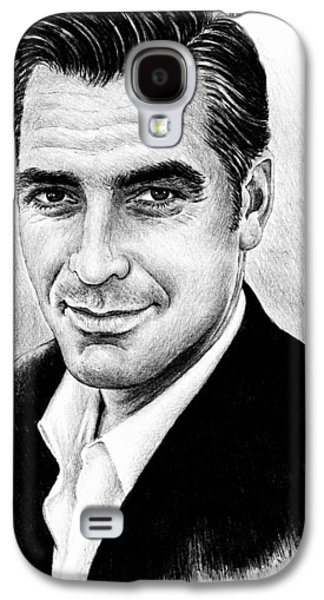 Clooney Galaxy S4 Cases - George Clooney Galaxy S4 Case by Andrew Read