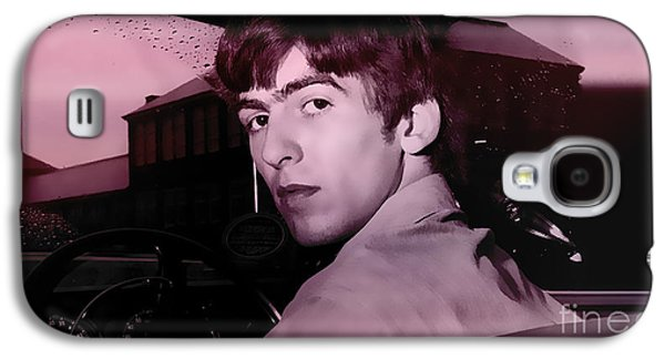 Recently Sold -  - Beatles Galaxy S4 Cases - George Harrison Galaxy S4 Case by Marvin Blaine