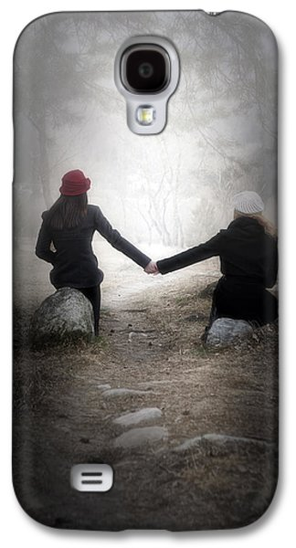 Person Galaxy S4 Cases - Girlfriends Galaxy S4 Case by Joana Kruse