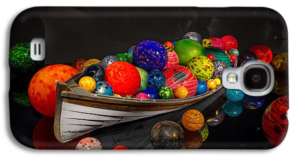 Transportation Glass Galaxy S4 Cases - Treasure Boat Galaxy S4 Case by Ahmed Memon