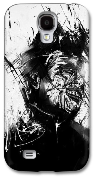 Surrealism Mixed Media Galaxy S4 Cases - Glasswall Galaxy S4 Case by Balazs Solti