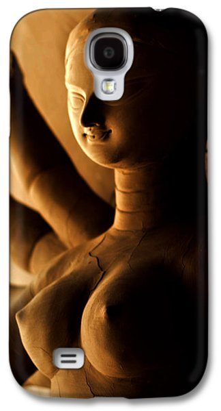 Goddess Durga Galaxy S4 Cases - Goddess Durga Galaxy S4 Case by Atin Saha