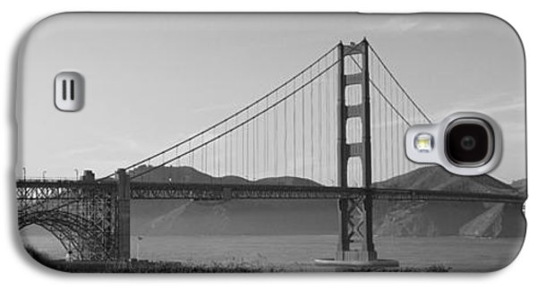 Road Travel Galaxy S4 Cases - Golden Gate Bridge San Francisco Ca Usa Galaxy S4 Case by Panoramic Images