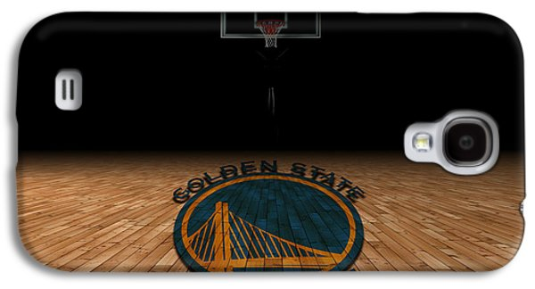 Dunk Galaxy S4 Cases - Golden State Warriors Galaxy S4 Case by Joe Hamilton