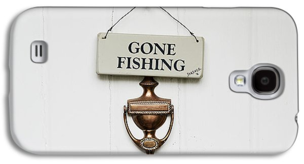 Pastimes Galaxy S4 Cases - Gone Fishing Forever Galaxy S4 Case by Tim Gainey