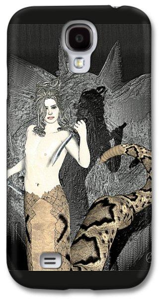 Gorgon Medusa  Galaxy S4 Case by Quim Abella