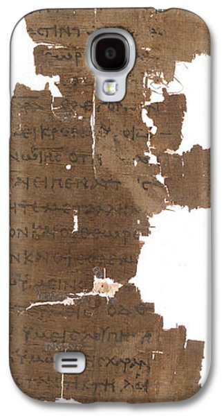 Gospel Of St John Galaxy S4 Case by British Library