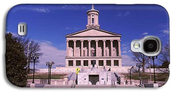 Tennessee Landmark Galaxy S4 Cases - Government Building In A City Galaxy S4 Case by Panoramic Images