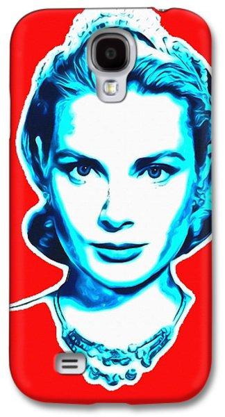 Grace Kelly Galaxy S4 Case by Art Cinema Gallery