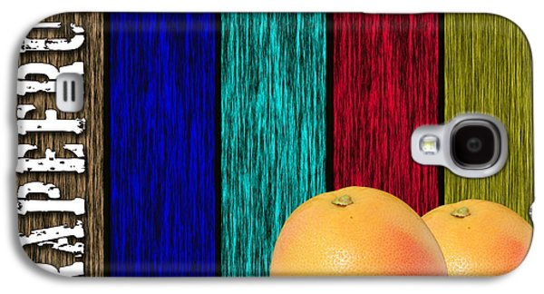 Grapefruit Galaxy S4 Case by Marvin Blaine