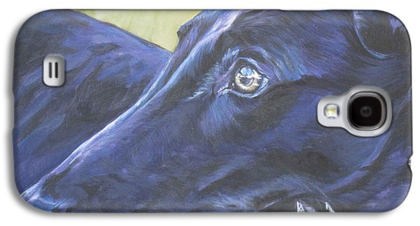 Greyhound Galaxy S4 Case by Lee Ann Shepard