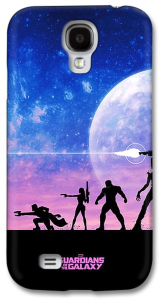 Raccoon Digital Art Galaxy S4 Cases - Guardians Of The Galaxy Galaxy S4 Case by FHT Designs