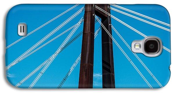 Hale Boggs Memorial Bridge Galaxy S4 Case by Andy Crawford