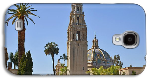 Tiled Galaxy S4 Cases - Balboa Park - The Soul of San Diego Galaxy S4 Case by Christine Till