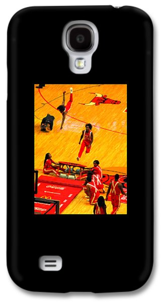 African-american Galaxy S4 Cases - Half-Time Galaxy S4 Case by David Gilbert