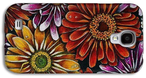 Happy Galaxy S4 Case by Linda Simon
